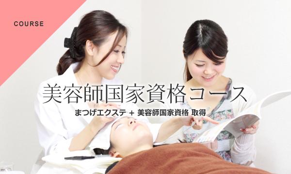 美容師国家資格コース(まつげエクステ + 美容師国家資格 取得)|アンドルーチェテクニカルスクール