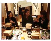 第1回 大阪校・神戸校合同勉強会 交流会の様子2